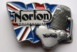 belt buckle, Norton Motorcycles Engine