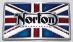 belt buckle, Norton Motorcycles