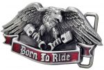 belt buckle,BORN TO RIDE Eagle