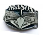 belt buckle, Mason Bricklayer
