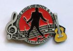belt buckle, Elvis The King Of Rock & Roll Music
