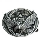 belt buckle, Eagle Western Metal
