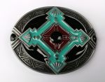 belt buckle,Western Celtic Cross
