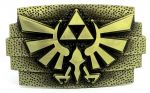 belt buckle,The Legend of Zelda Tri-Force Bronze