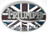 belt buckle, TRIUMPH Motorcycle